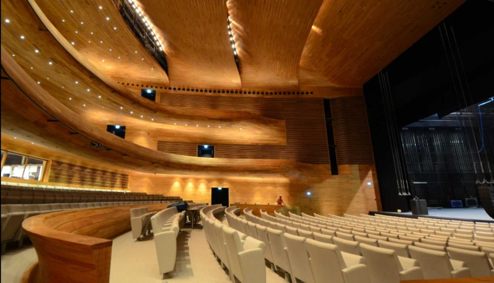 NATIONAL THEATRE OF BAHRAIN BY ARCHITECTURE STUDIO  A As