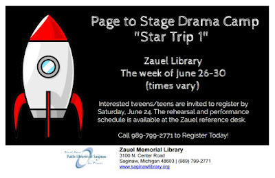 Page to Stage Drama Camp at Zauel Memorial Library