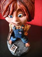 Ellie up orme magiche modellini film animazione cartoni animati statuette sculture action figure personalizzate fatta a mano da colorare