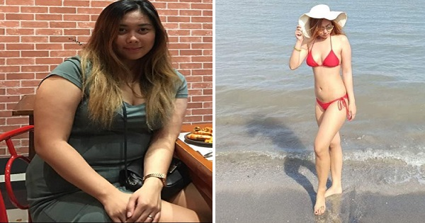 Pamela Cruz shared her weight-loss journey on Facebook
