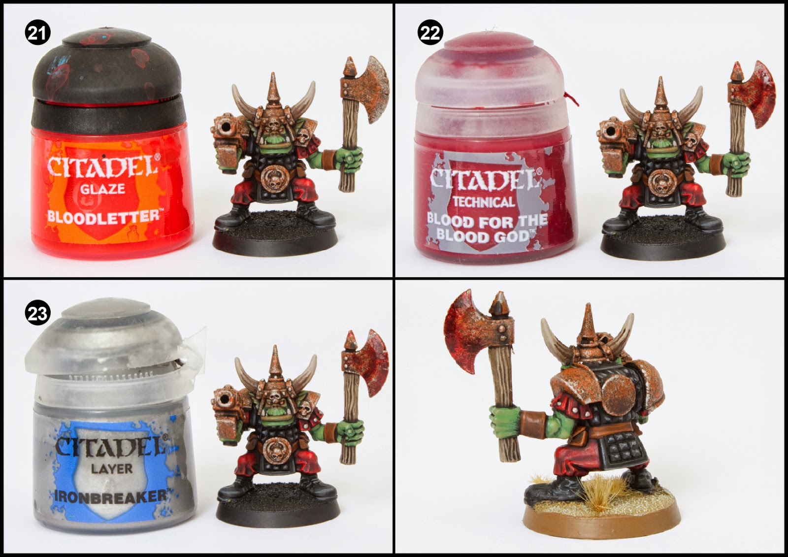 What Colour Paint To Use To Paint T Teeth