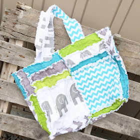 Elephant Diaper Bag by A Vision to Remember