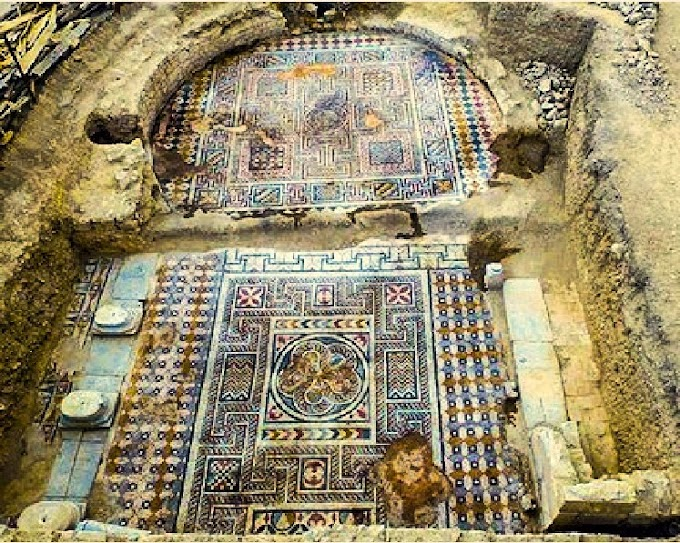 Μ.Ασία : Ανακαλύφθηκε βυζαντινό μωσαϊκό δαπέδου γυμναστηρίου