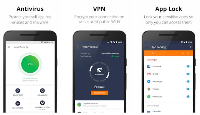 Top 5 Aplikasi Antivirus Terbaik Android Gratis dan Ringan Terbaik Tahun Ini