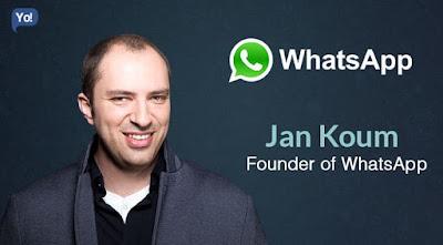 Jan koum pendiri aplikasi messenger whastapp