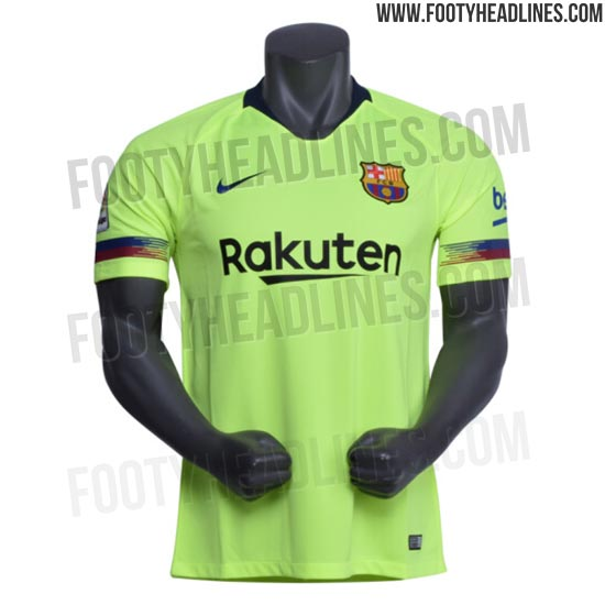 84557085273 Update  Four new pictures of the Barcelona away shirt have leaked