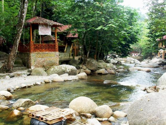 Tempat menarik di selangor Inki River Resort