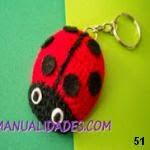 patron gratis mariquita amigurumi, free amigurumi pattern ladybug