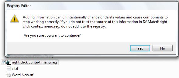 Cara Menghapus Opsi Pada Menu Klik Kanan Tanpa Software Tambahan