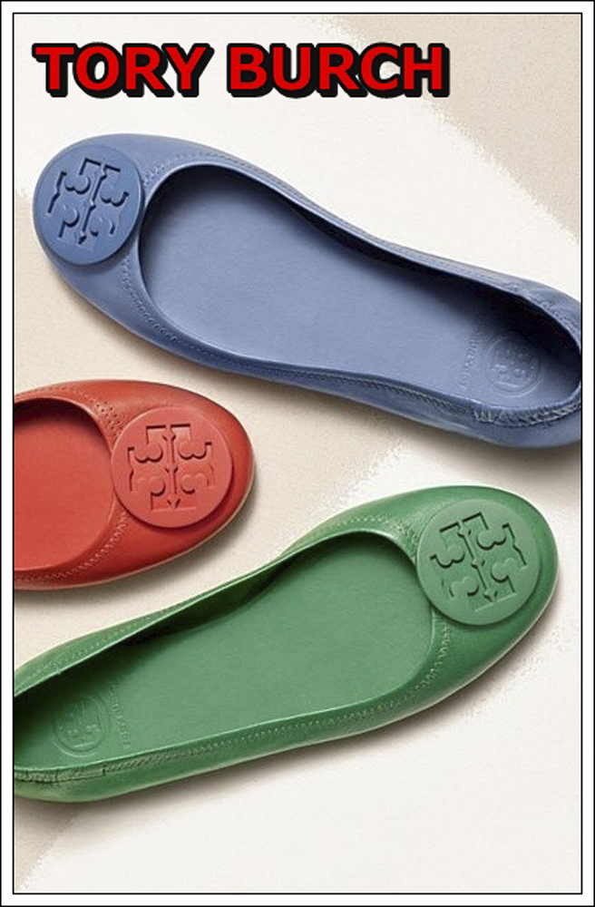 Tory Burch una marca de calzado diferente
