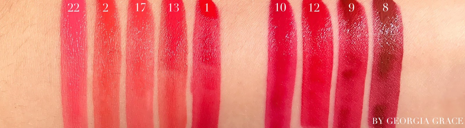 Ysl Rouge Tatouage Matte Lip Stain Swatches Review