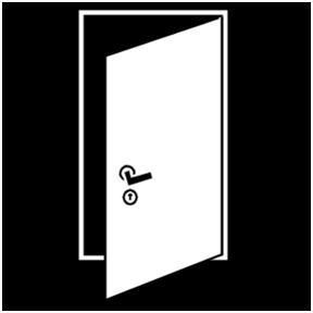 deur dicht houden