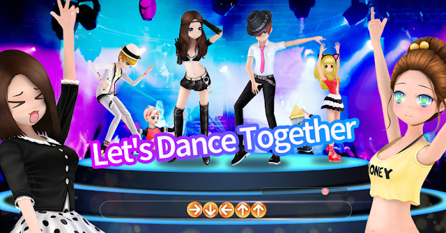Screenshot Dance Up Indonesia
