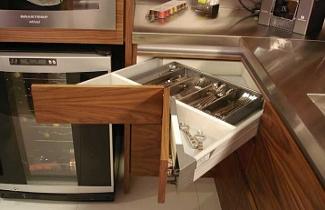 Cozinhas planejadas Gavetas de cozinha