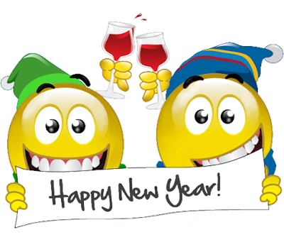 Download Emoticons for New Year 2017