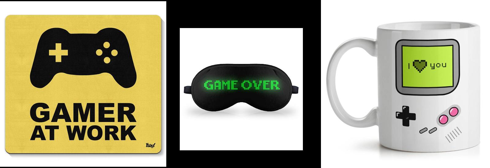 sugestões de presentes dia dos namorados- namorado gamer