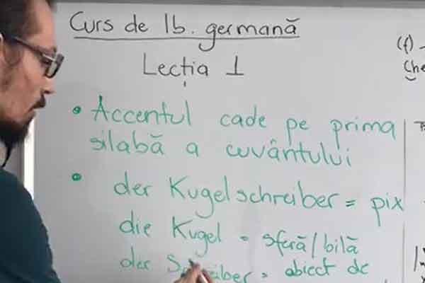 curs online de germana