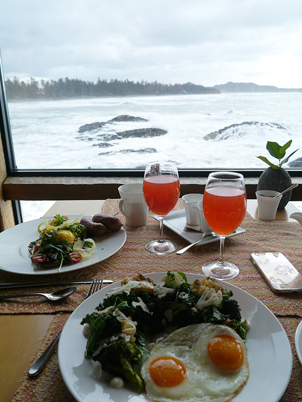 Brunch at The Pointe Restaurant at the Wickanannish Inn