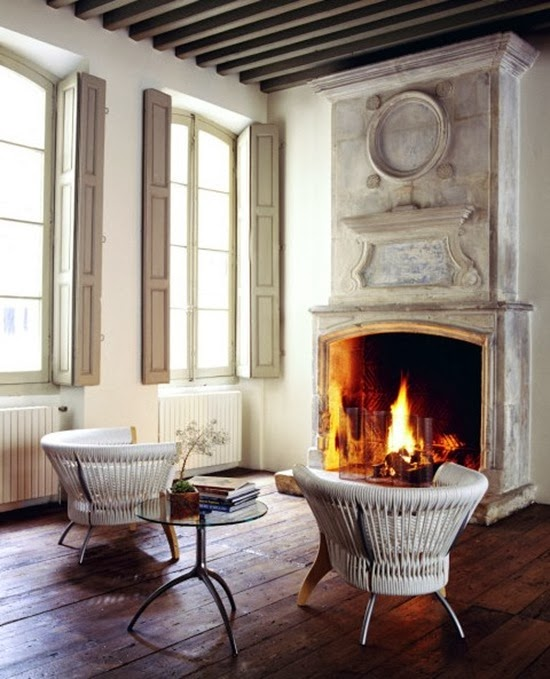 Victoria Dreste Designs: The Warm Glow Of A Fireplace