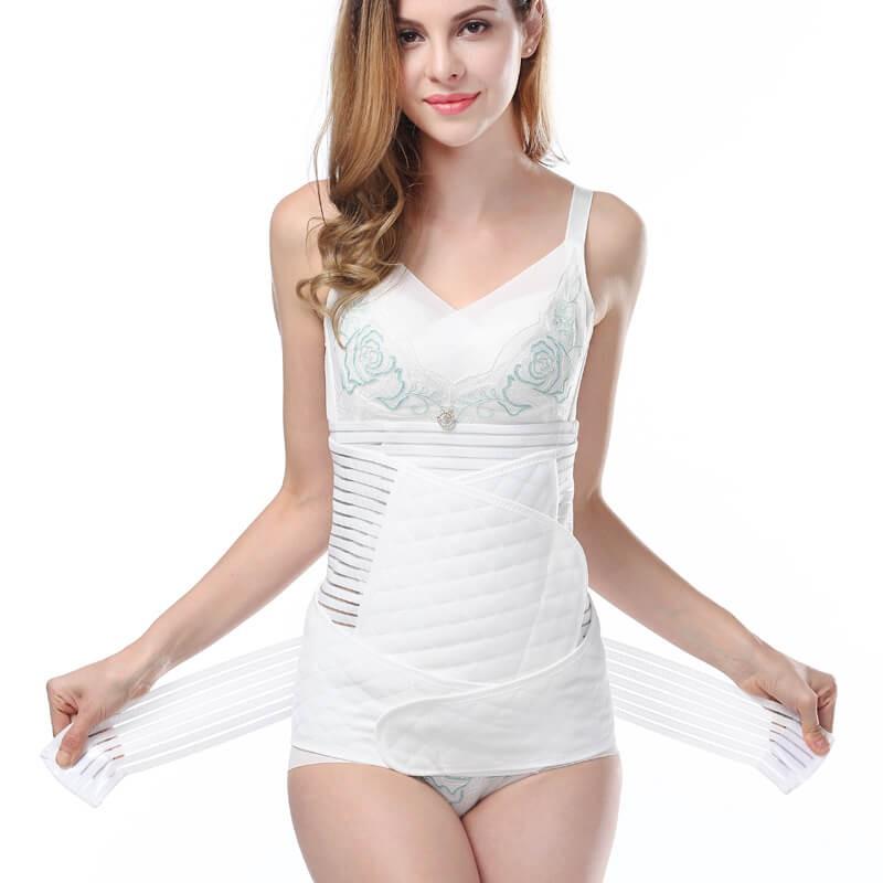 women postpartum girdle fashion blogger livinglikev