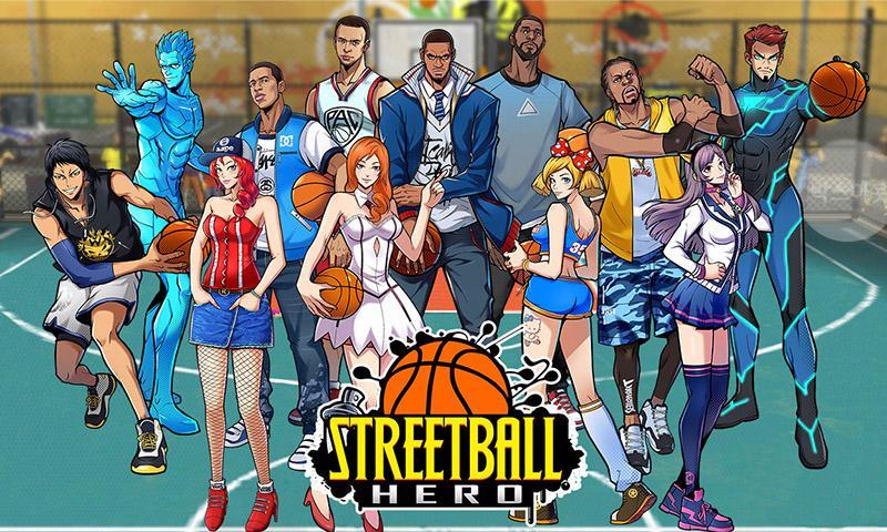Streetball Hero 2017 Finals MVP MOD APK terbaru