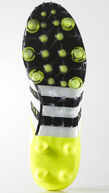 a0ecab876ccd The most remarkable element of the new Adidas Ace Cleats is the totally new  outsole