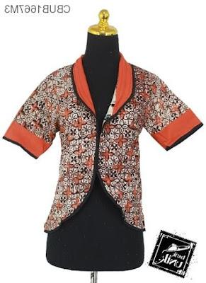 Contoh Rompi Baju Batik Modern Terbaru