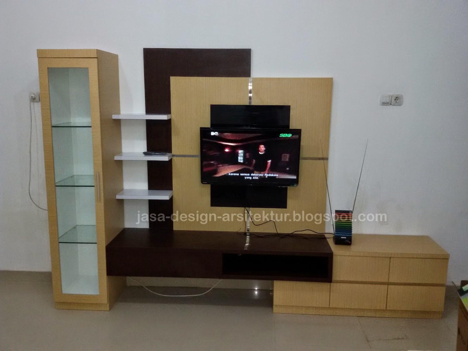 Kontraktor Interior Surabaya Sidoarjo Desain meja tv dan