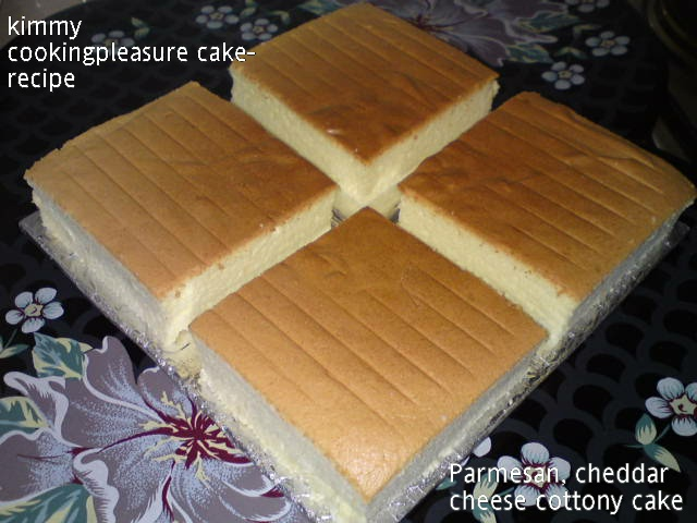 Resep Soft Cheddar Cheese Cake