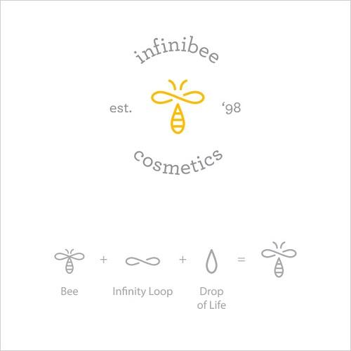 Logo Example - Infinibee Cosmetics