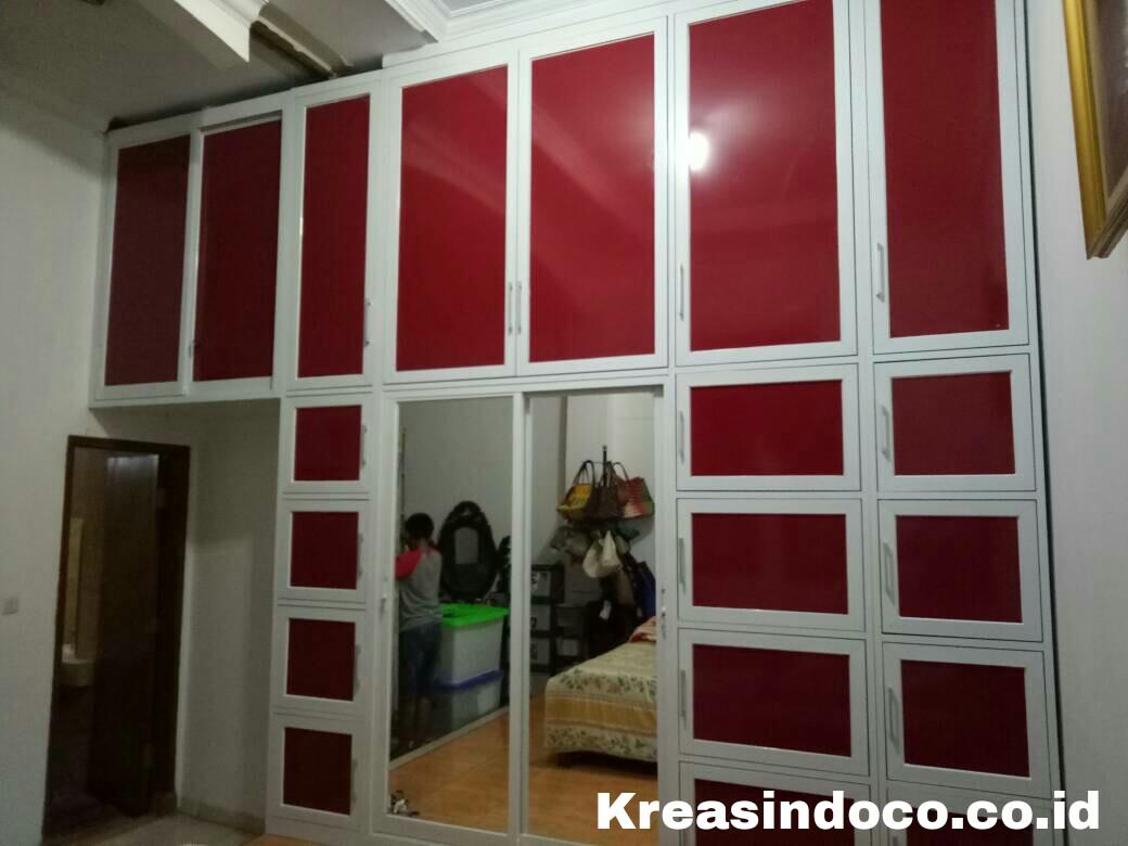 Tukang lemari keren aluminium acp bengkel las listrik for Lemari kitchen set aluminium