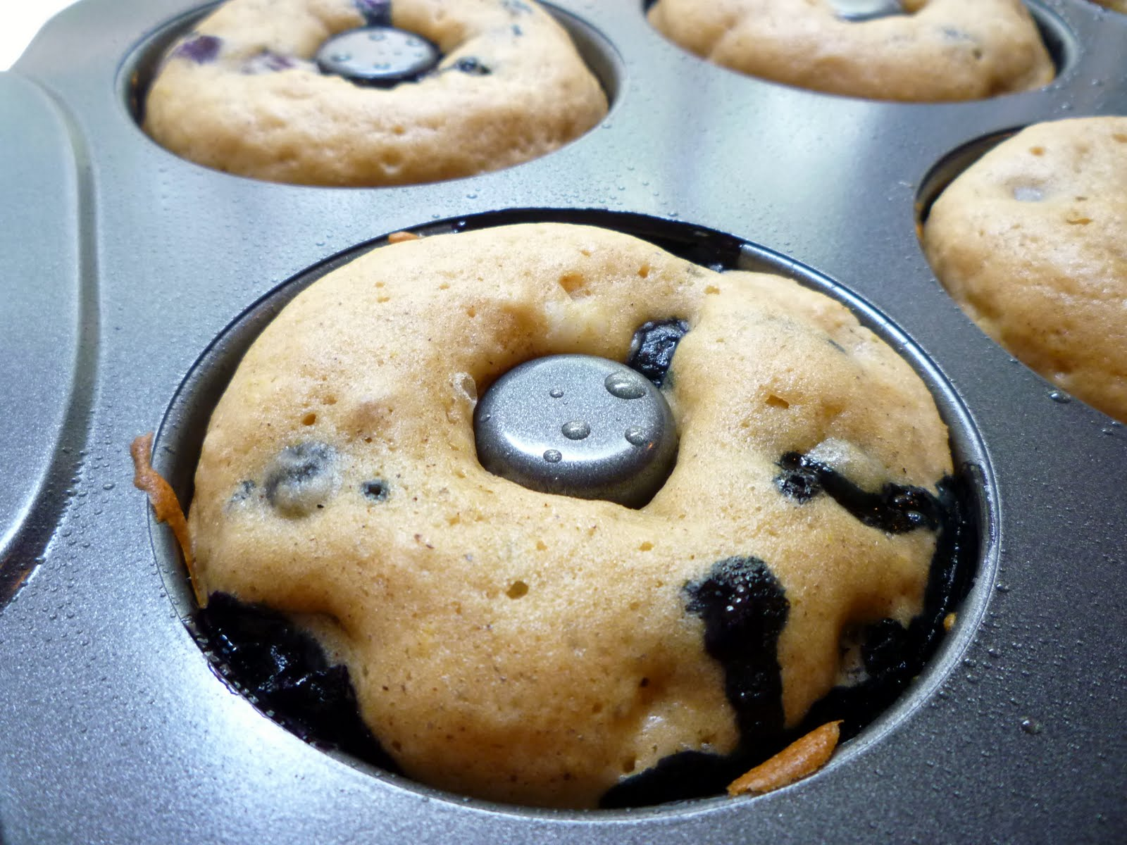 What S Baking In The Barbershop Baked Blueberry Cake Donuts