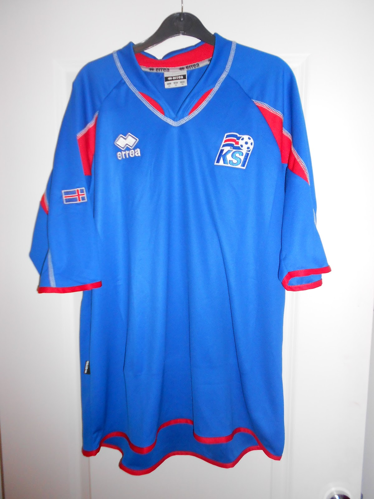 51c6a63a629 My collection of football shirts: Iceland Home 2006