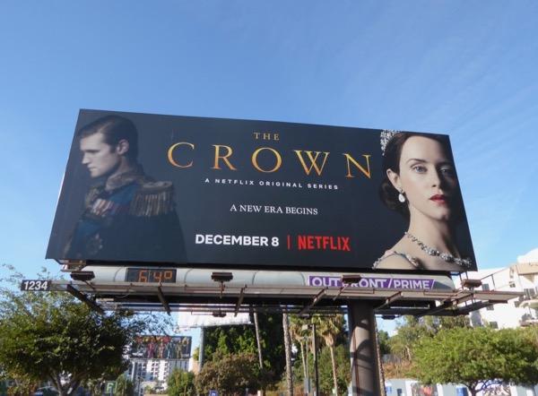 Crown season 2 billboard