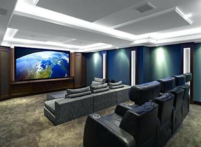 60 Desain Home Theater untuk Hunian Semakin Keder