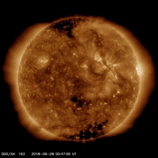 ALERTAS: Viento Solar Llegará A La Tierra.