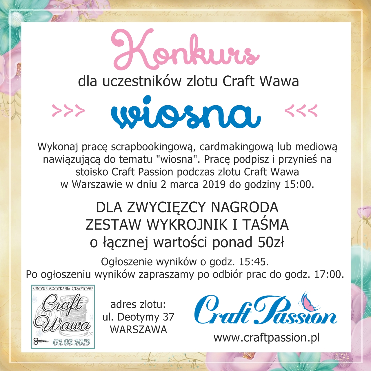 Konkurs na Craft Wawa