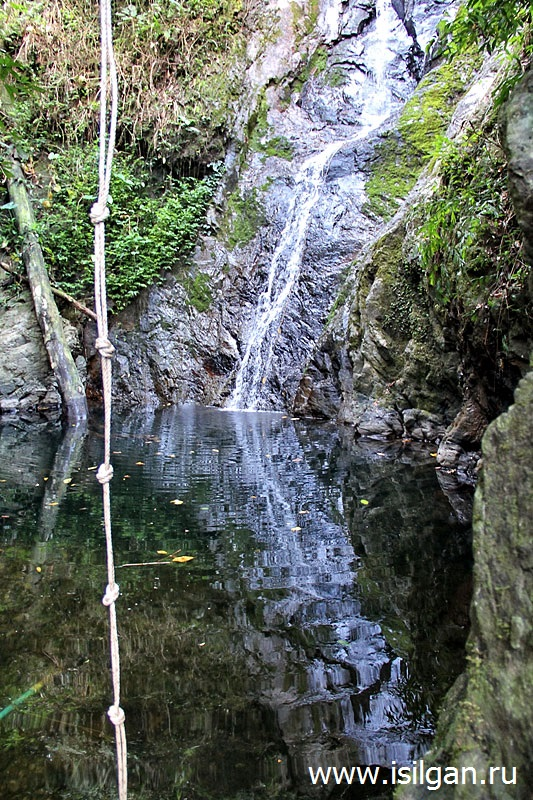 Секретный водопад (Secret waterfall) или водопад Кай Бей (Kai Bae Waterfall). Остров Ко Чанг. Таиланд