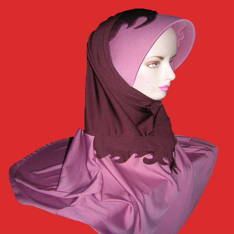 Facebook Batik Keris: Koleksi Jilbab Kaos 08