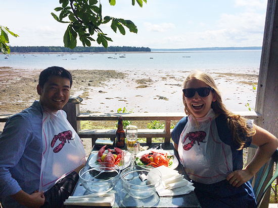 Lobster Dinner / St. Andrews, NB