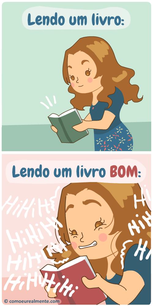 When I read a good book