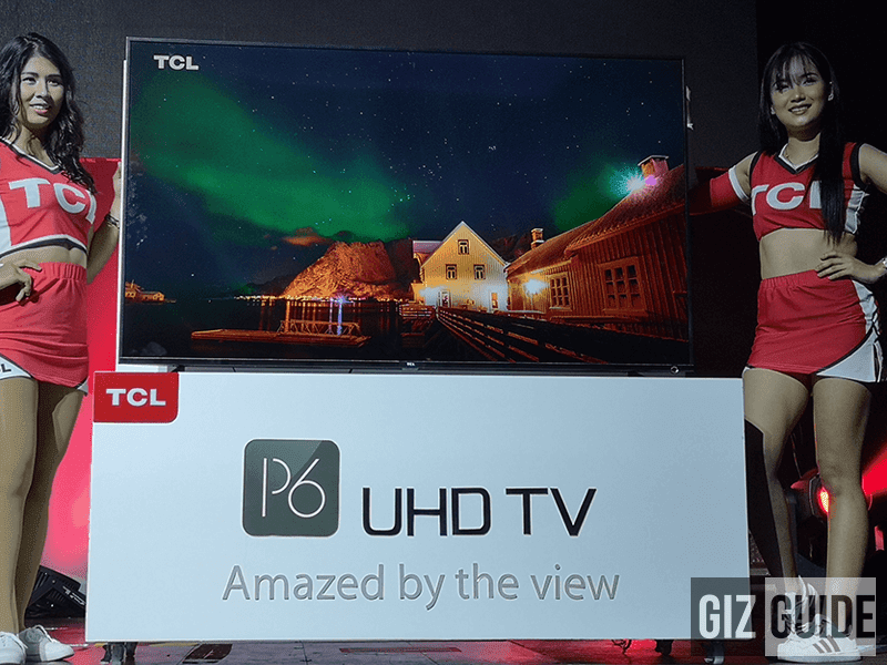 TCL announces P6 Super Slim 4K Smart TV and F2 Split Type