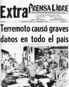 Terremoto de 1976 en guatemala