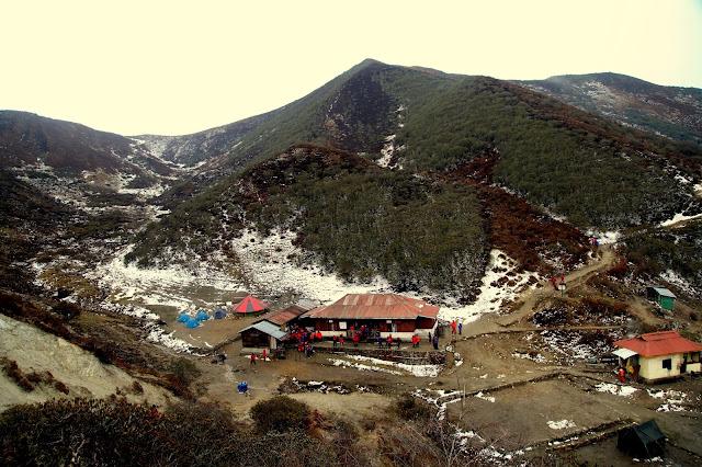 Campsite at Dzongri