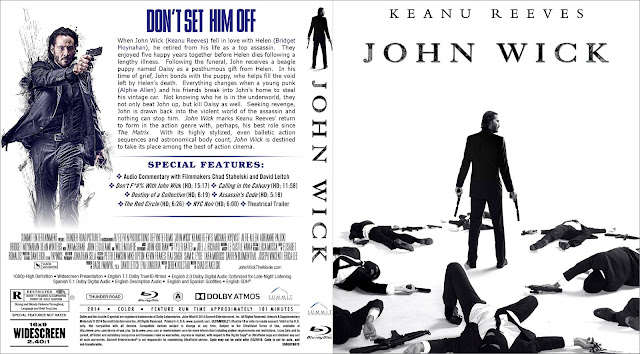 Capa Bluray John Wick