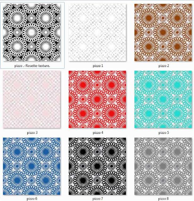 lace textures color palette #1