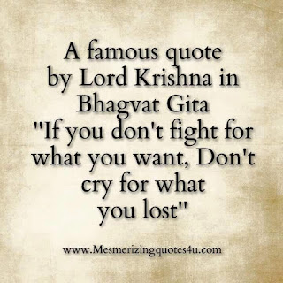 Quote from the Bhagvat Gita
