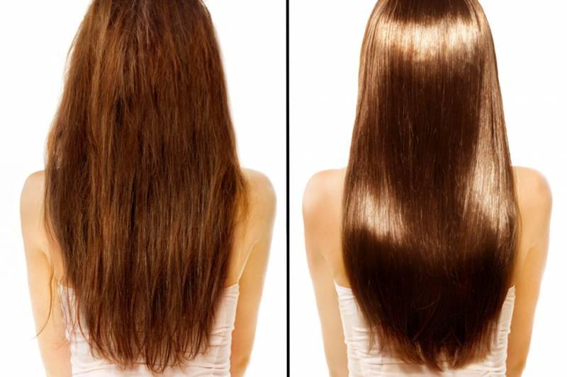 Faire Un Bain De Crme Cheveux  La Maison Pour Avoir Des Cheveux De