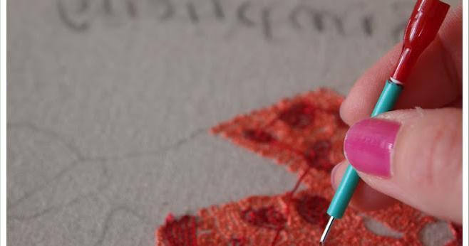 Como hacer bordado ruso o en relieve tutoriales enrhedando for Como hacer alfombras en bordado chino