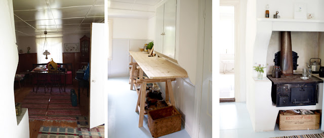 Istandsættelse af køkken i svensk ødegård